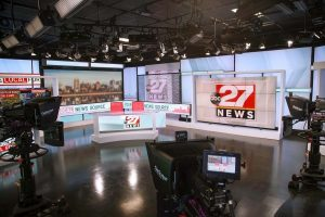 ABC 27 News studio