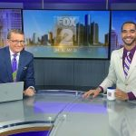Charlie Langton with Michael Estime anchoring morning news