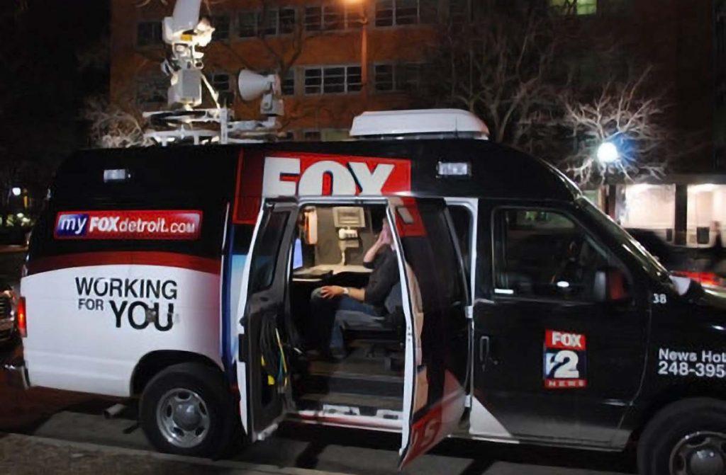 Fox 2 News Van for Live Stream