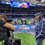 Fox 2 team covering NFL transmission