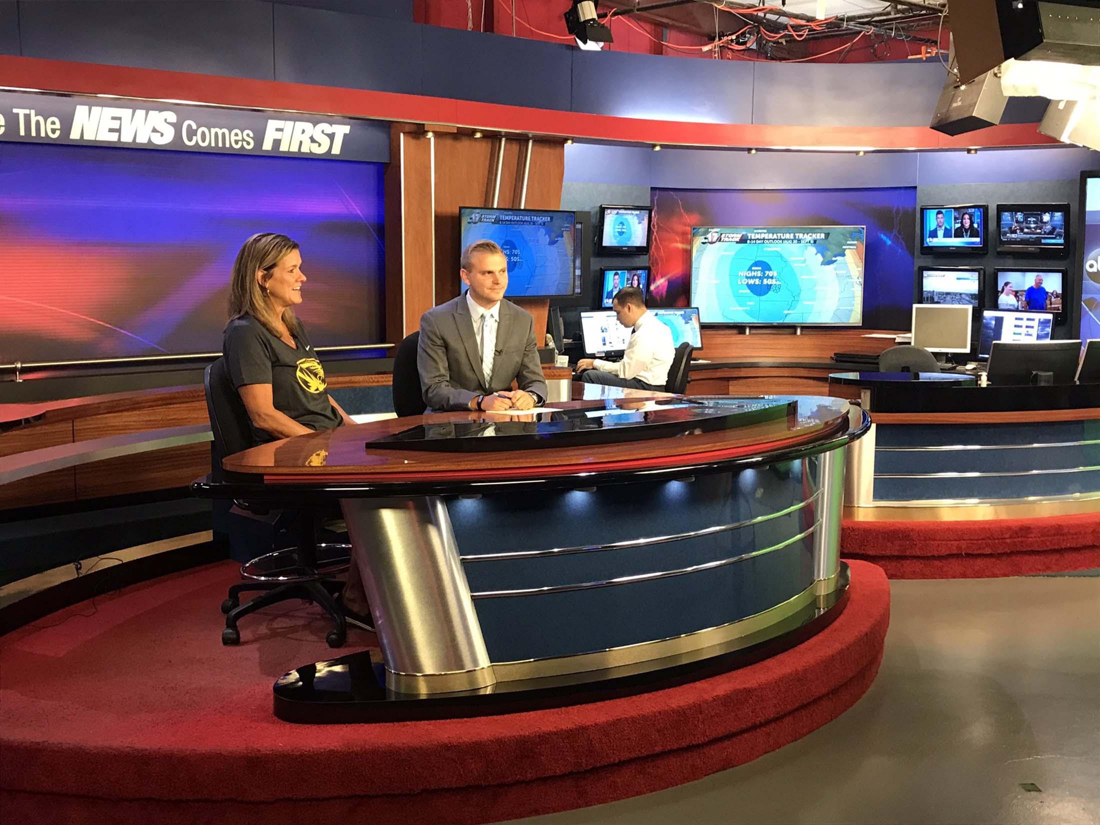 Robin Pingeton - Head Coach of University of Missouri at ABC 17