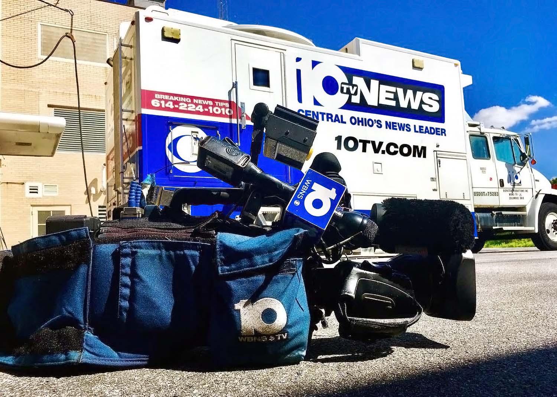 WBNS 10TV News Photography Van