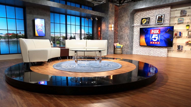 WTTG broadcasting set