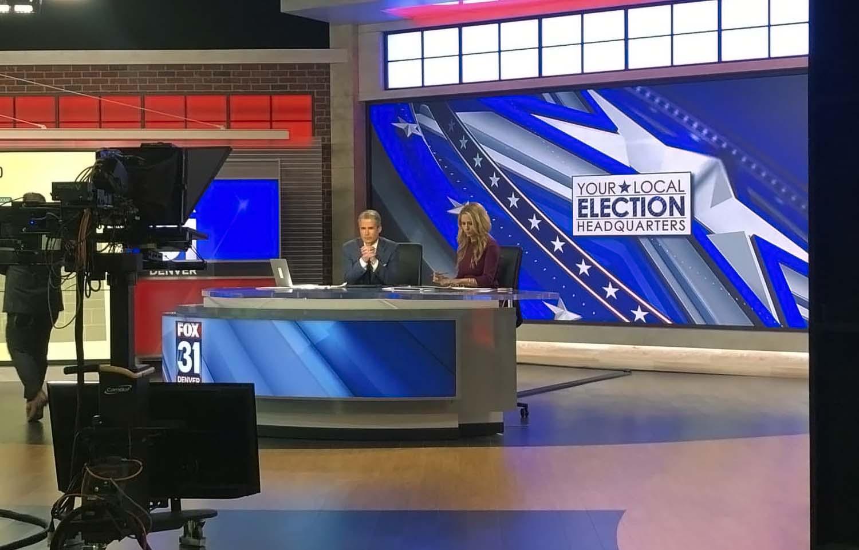 Local Election Headquarters! Fox 31