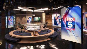 Fox5 San Deigo News Studio