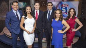 KSWB TV Fox 5 News Desk