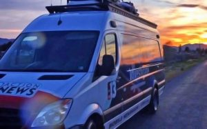 13 Action News satellite van