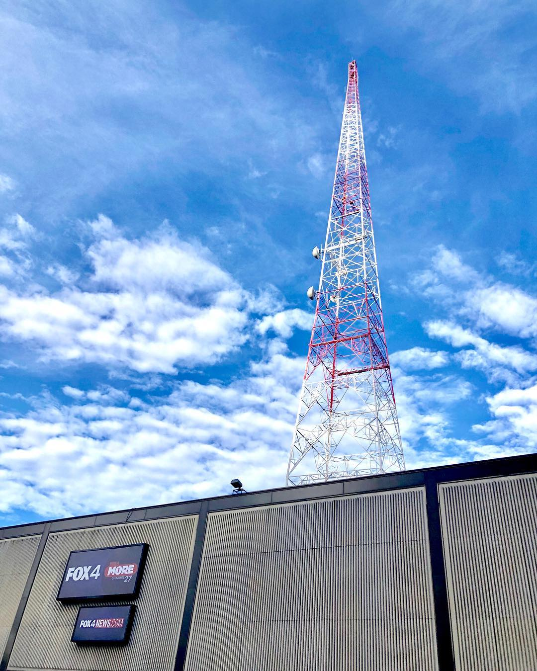 KDFW Fox 2 News Transmission Tower Dallas, Texas
