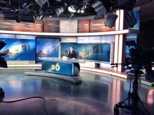 Adam Slinger at ABC 6 studio