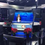 Autumn Imhoff at NBC 4 studio