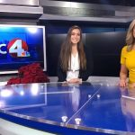 Autumn Imhoff with Danielle Avitable at NBC 4 studio