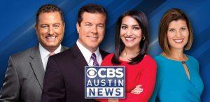 CBS Austin Bob Ballou, Walt Maciborski, Hema Mullur, and chikage Windler