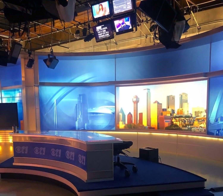 KTVT CBS 11 live oanir studio