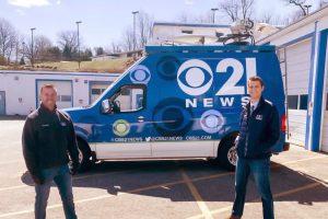 WHP TV DSNG Van