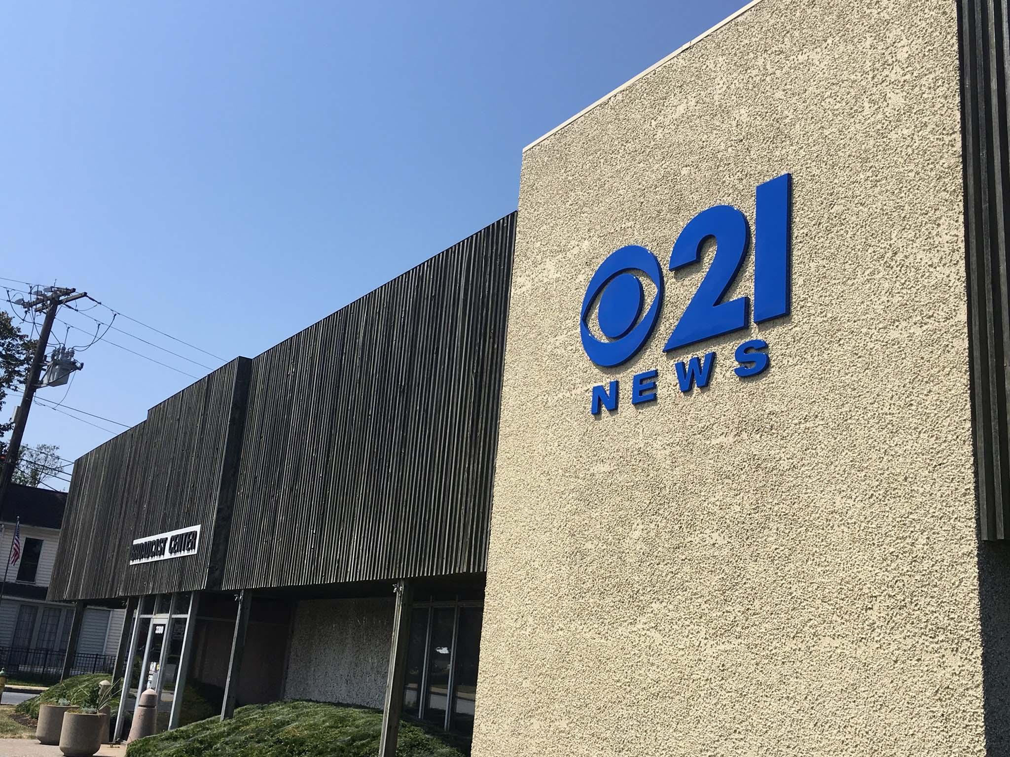 CBS 21 News Studio Building