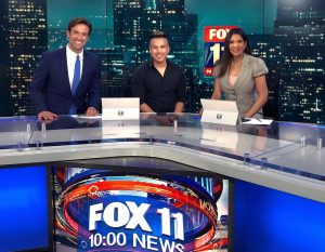 Elex Michaelson, Freddy Rivera, and Christine Devine