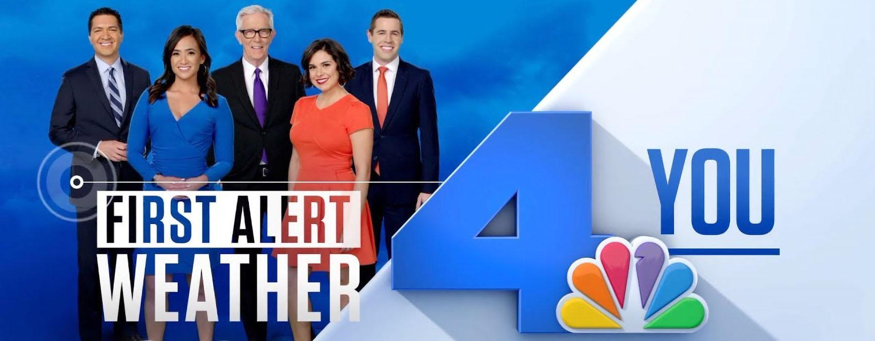 Fiest Alert Weather team of NBC 4 Los Angeles