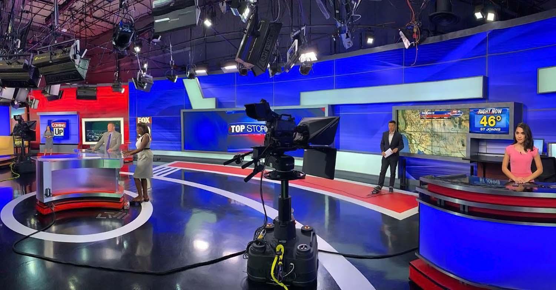 Fox 10 News Team at studio