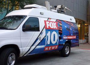 Channel 10 News Phoenix DSNG