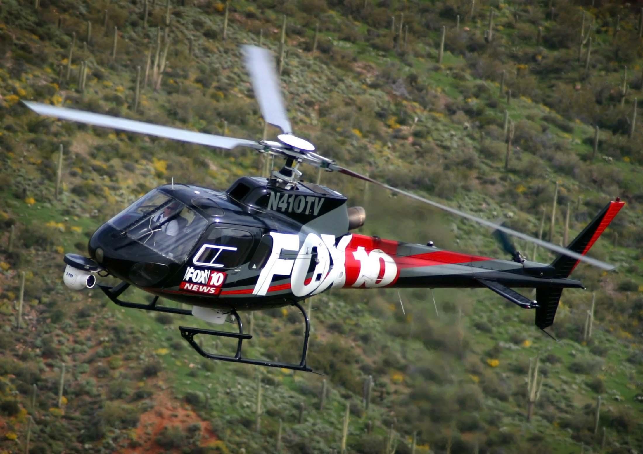 Fox 10 Phoenix Helicopter