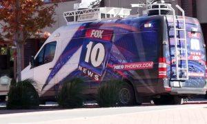 Fox 10 Phoenix News Van