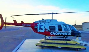 Fox 13 News chopper