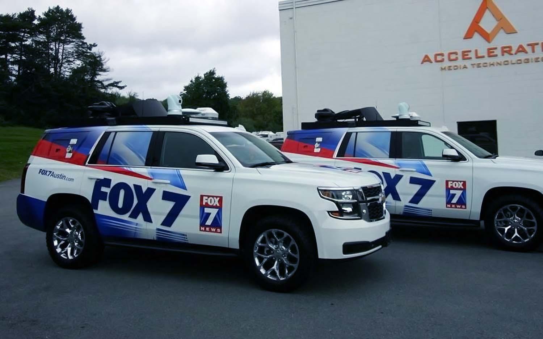 Fox 7 Austin news truck