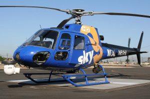 CBSN LA News helicopter