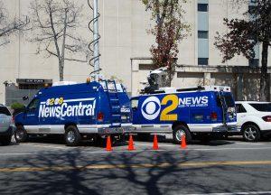 Channel 9 News satellite van