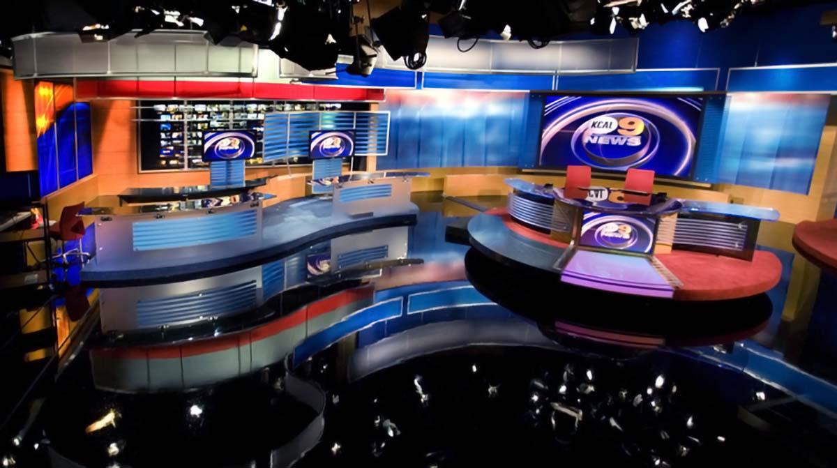 KCAL 9 News studio