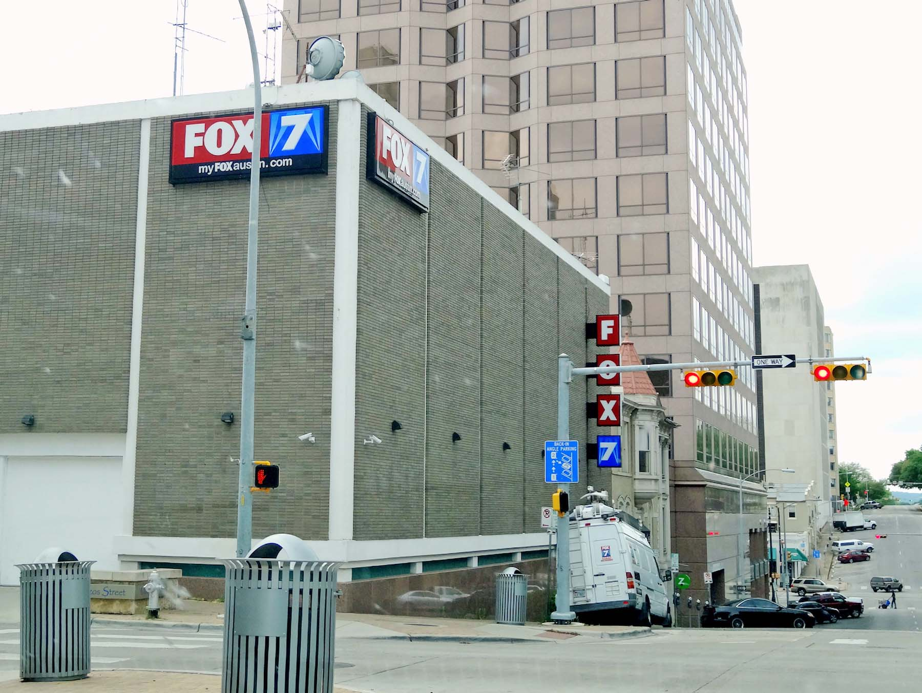 KTBC Fox Austin Studio Office