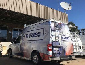 KVUE News DSNG van