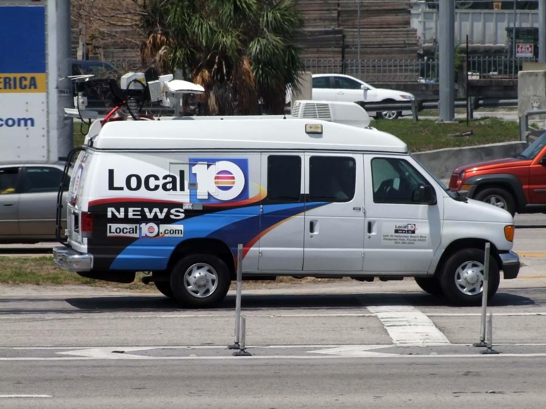 Local 10 News Van