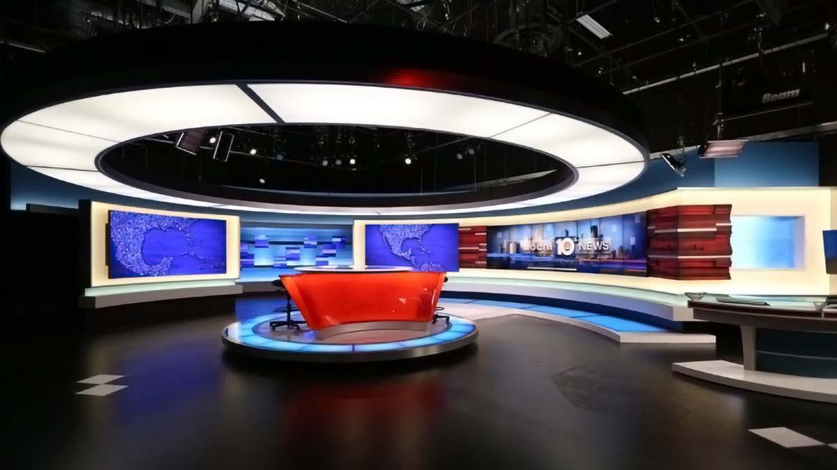 Local 10 News studio