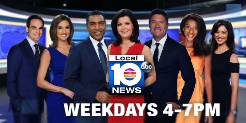 Local 10 News team