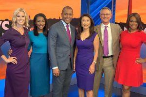 Melissa, Jummy Olabanji, Aaron Gilchrist, Eun Yang, Chuck Bell, and Molette Green