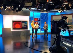 Studio of the NBC 4 Washington