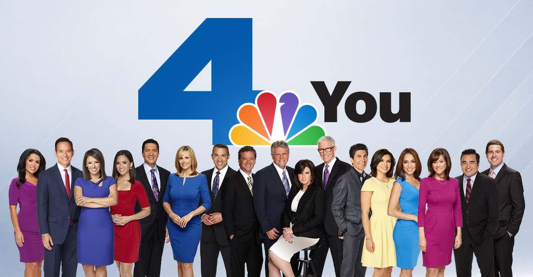 NBC 4 Los Angeles news team