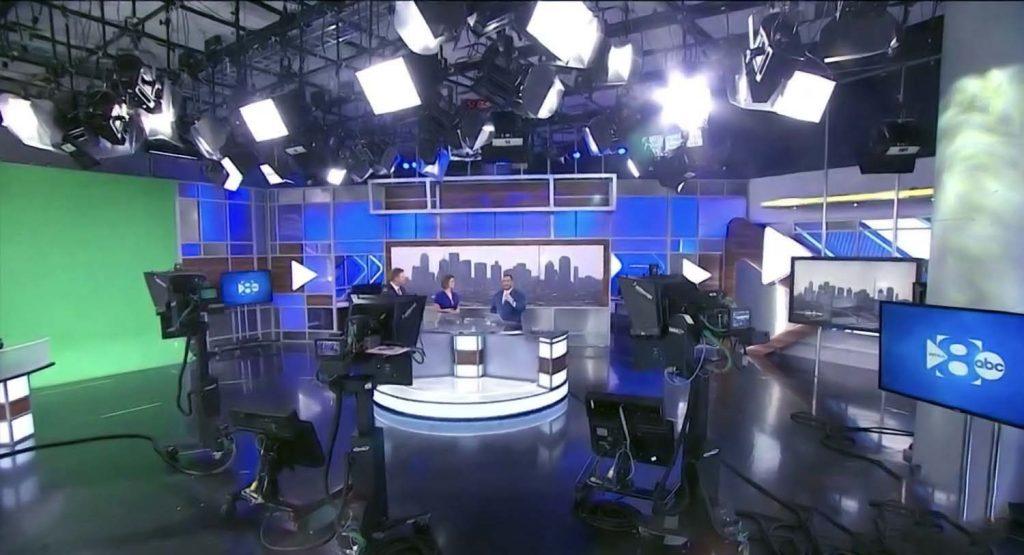 WFAA News studio