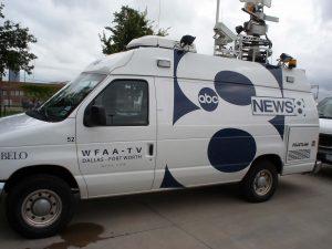 WFAA News DSNG Live Van