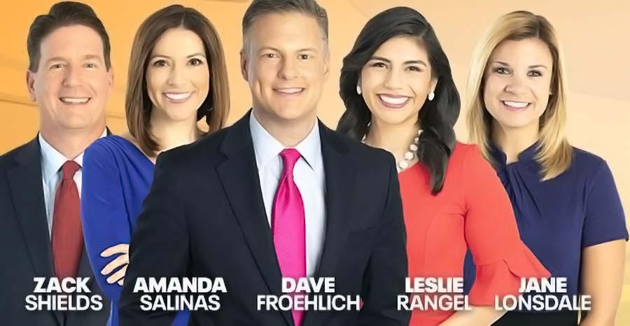 Zack Shields, Amanda Salinas, Dave Froehlich, Leslie Rangel, and jane Lonsdale