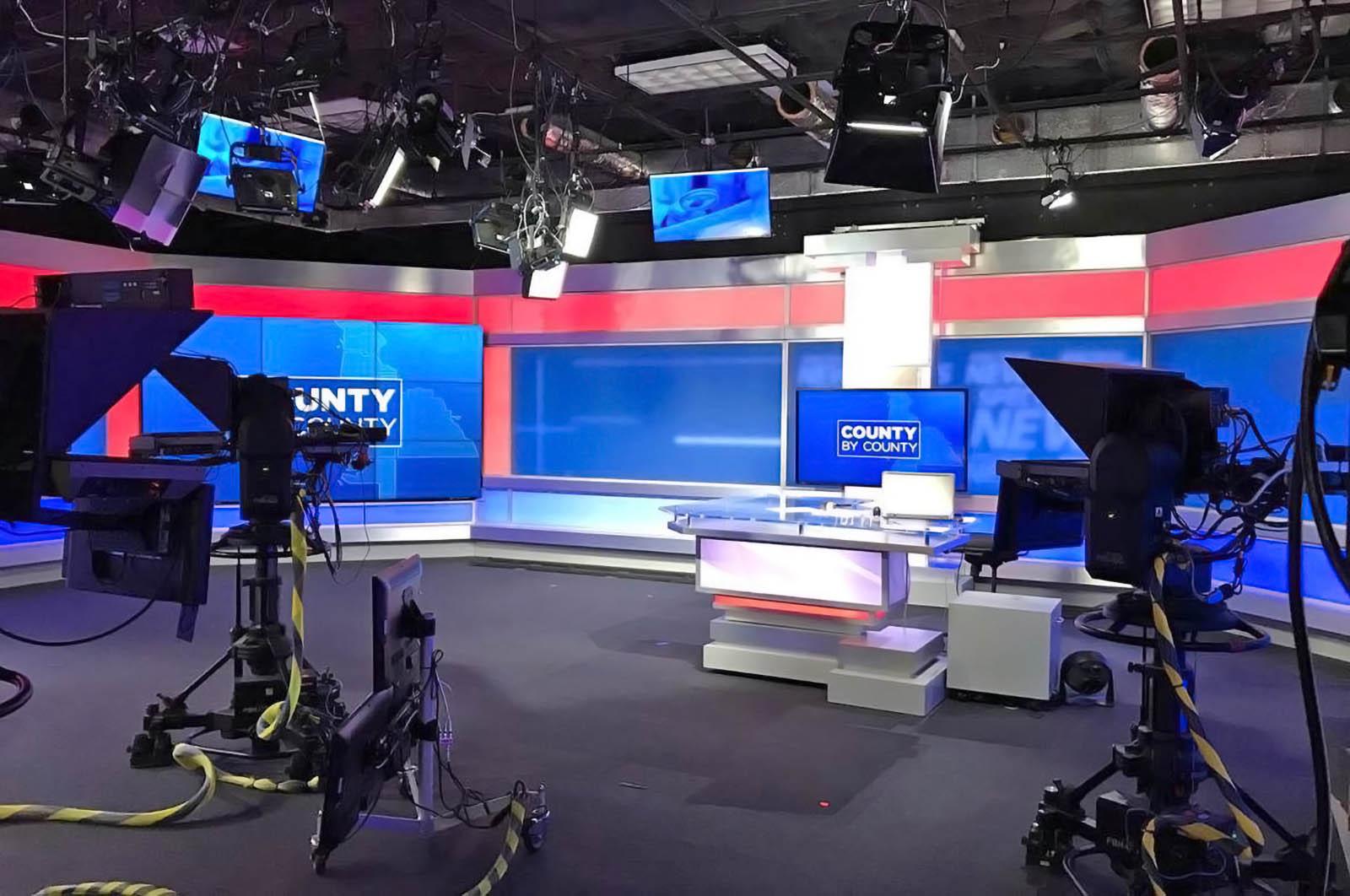 Bay News 9 St. Petersburgh live stream studio