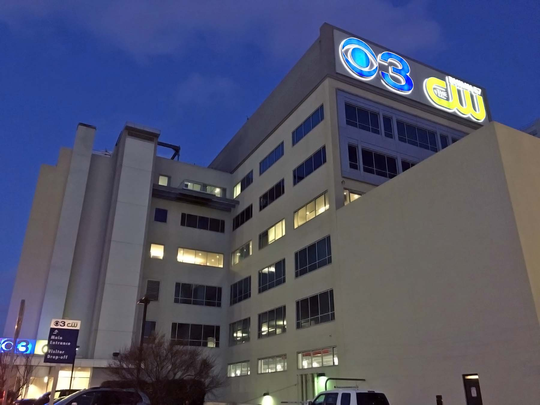 CBS 3 News Philly building