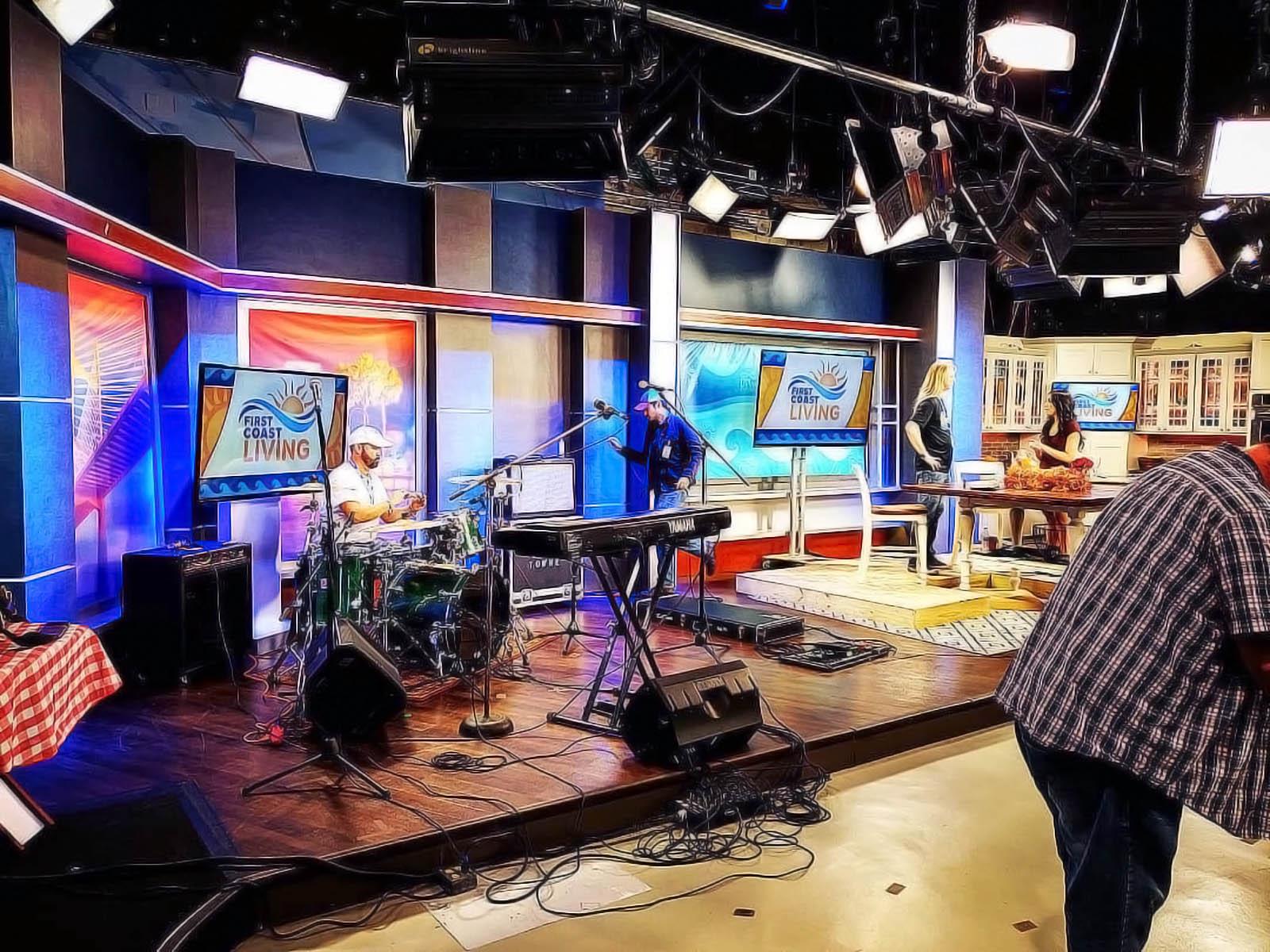 First Coast News studio