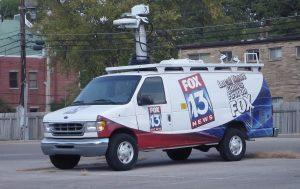 Fox 13 News Tempa Bay News Van