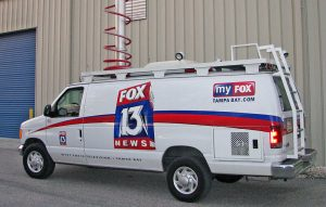 Fox 13 News Van