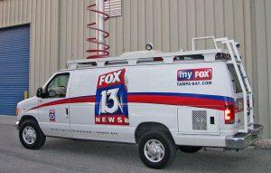 Fox 13 News Van