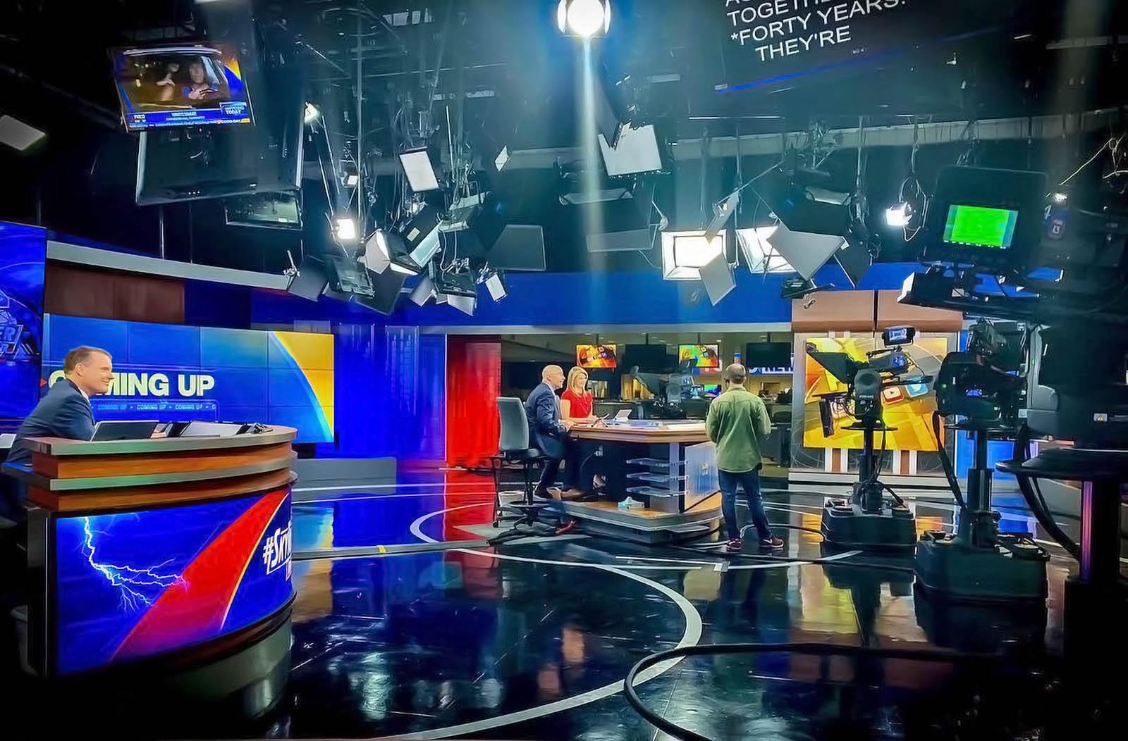 Live Studio of Fox 13 News Tampa Bay