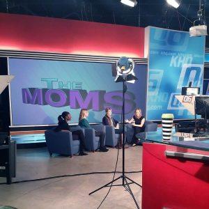 Fox 28 interview set