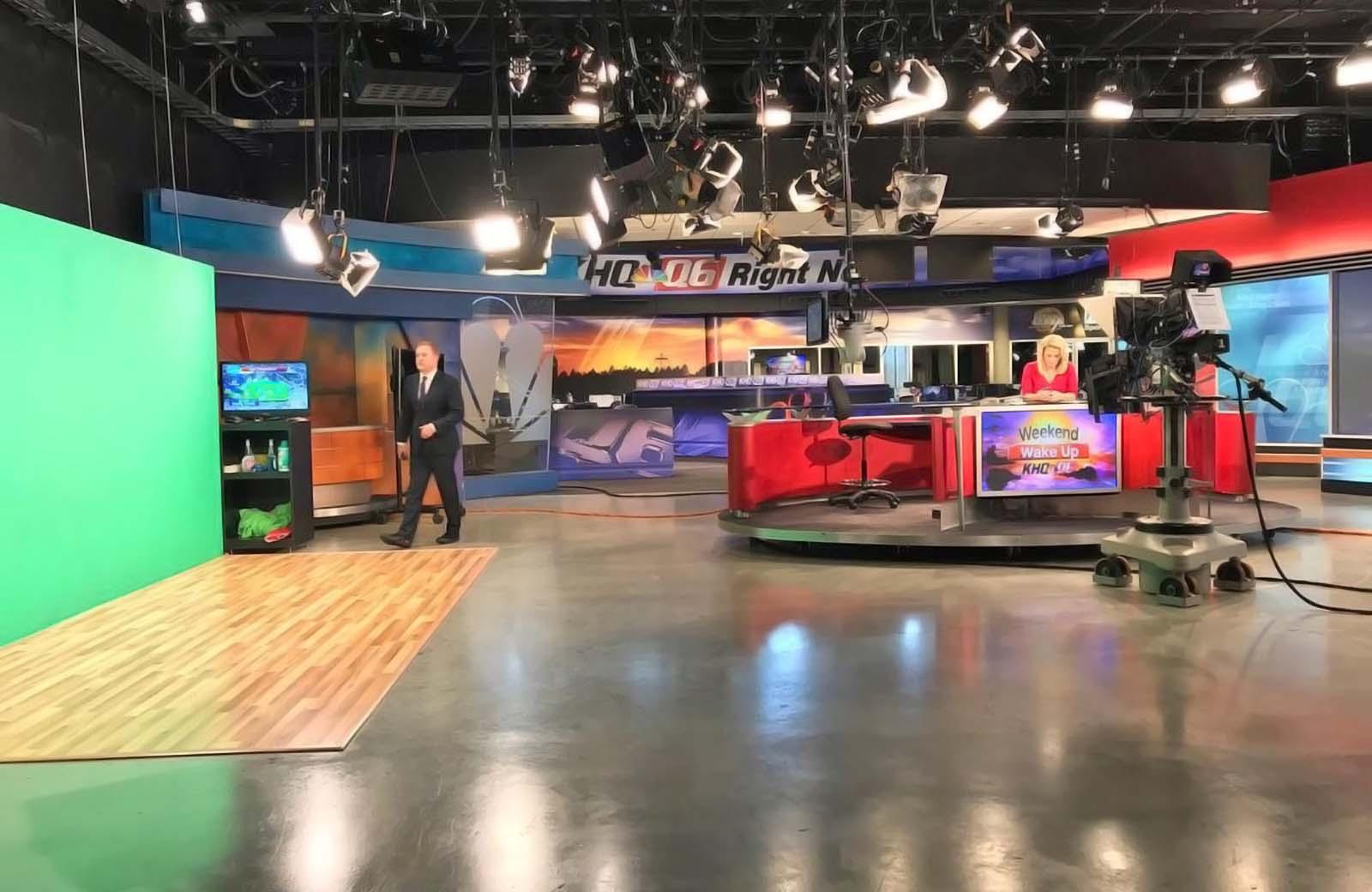 KHQ Local News studio